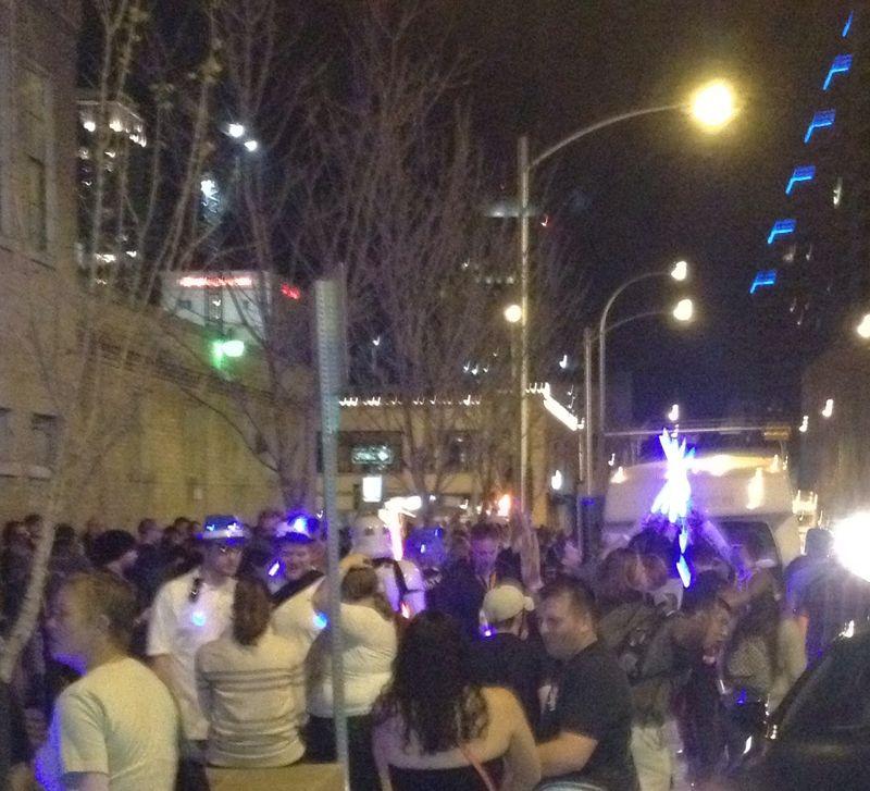 SXSW light sabers